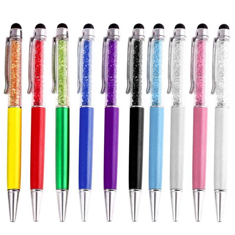 Stylus Crystal Rhinestone Touch Screen Pen Tablet Pen Write Ball Point Pen