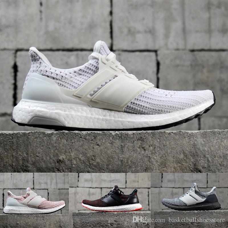 2018 Ultra Koşu Ayakkabıları 4.0 üçlü beyaz siyah gri Erkek Kadın UB 3.0 Mavi Oreo adam rahat Ayakkabılar Spor Sneakers 36-45