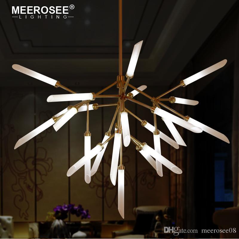 Lampadario moderno Lampadario indoor Lampada a sospensione a LED Lampada a sospensione per il salotto da pranzo Ristorante Cucina Lampada da cucina Creative Luminaire Sospendu Lampade da home