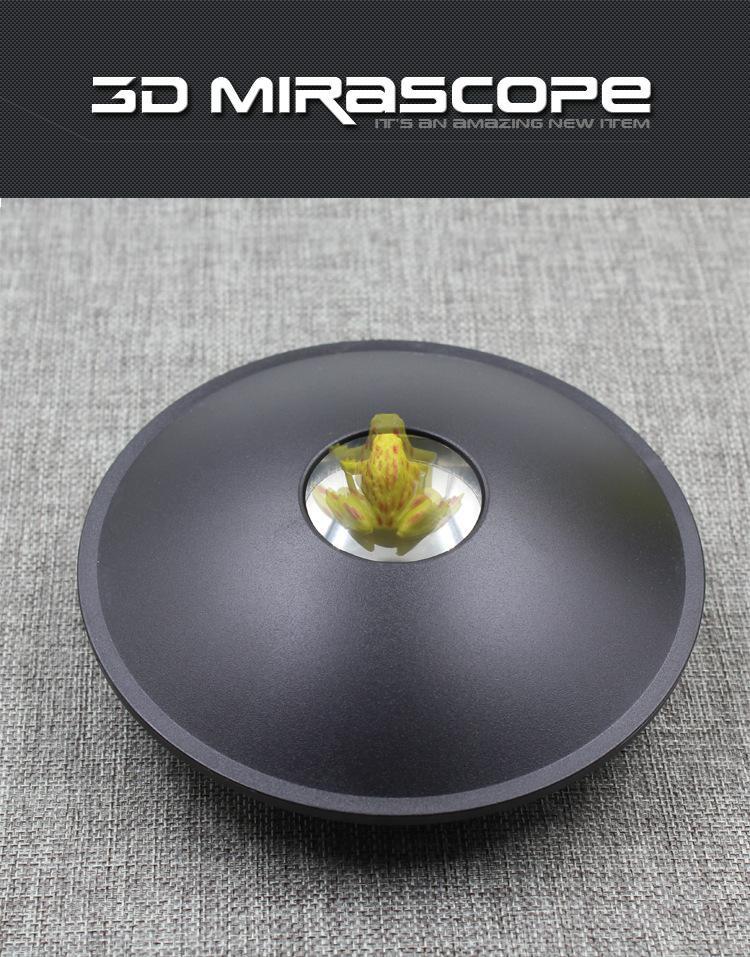 Mirascope 3-D 3D Projeção Holográfica Ilusão De Ótica 6 Polegadas sensorial Brinquedo Novo