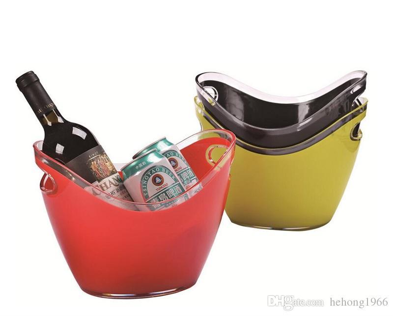 Red Stripe Beer metal bucket NEW ice bucket beer bucket