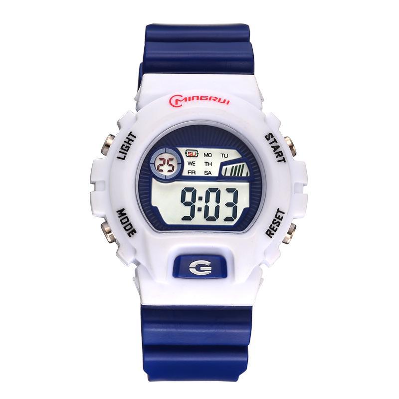 Zegarek Damski Moda niños reloj multifunción impermeable Nuevo estudiantes de la marca LED relojes electrónicos Boy Girl regalo favorito