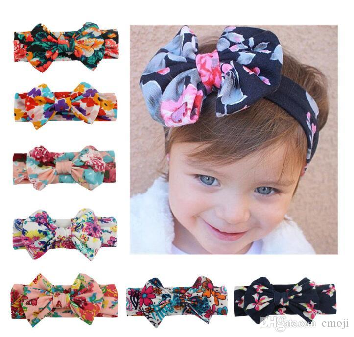 New Fashion Bow Fascia Per bambini Accessori Fasce per la testa Neonati Fasce per le ragazze Accessori per capelli per neonati Fasce per capelli Fasce per neonati