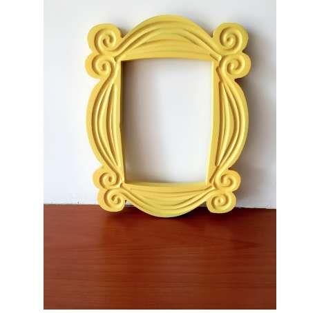 New Friends Frame TV Show مونيكا إطار الصورة الباب الأصفر جيد جدا النهاية - حبي