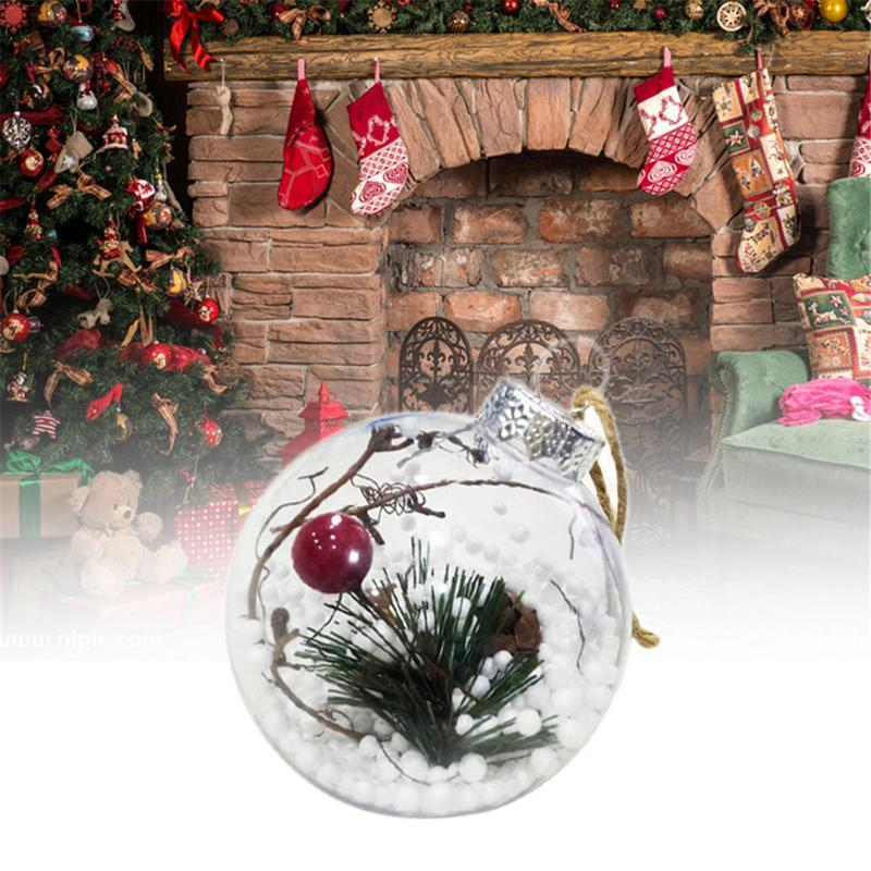 3PCS Christmas LED Light Balls With Lights Christmas Tree Ornaments Venue Props Chrismas Party Outdoor Decor New Year Lighting