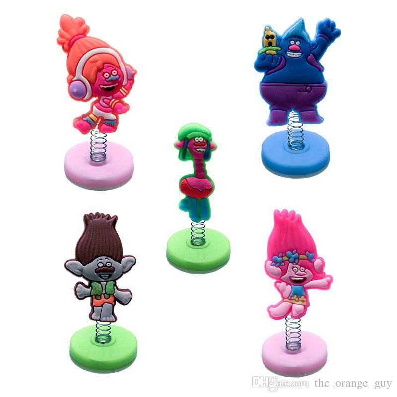 Frete Grátis Em Pé Boneca Partido Troll Favor Decoração Brinquedo para TableCar E Varejo Para O Miúdo Melhores Presentes
