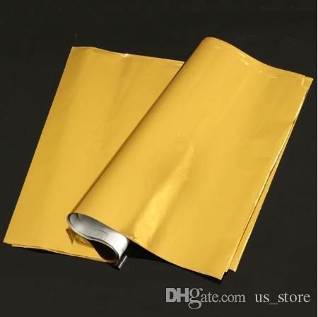 Kicute 50 листов A4 золото горячего тиснения фольги бумаги ламинатор ламинирование передачи лазерный принтер визитная карточка календарь 295 х 195 мм