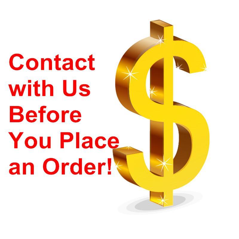 Kontaktiere uns! Musterlink Extra Versandkosten Mix Order Link Hochwertige Produkte für neue Käufer oder alte Käufer