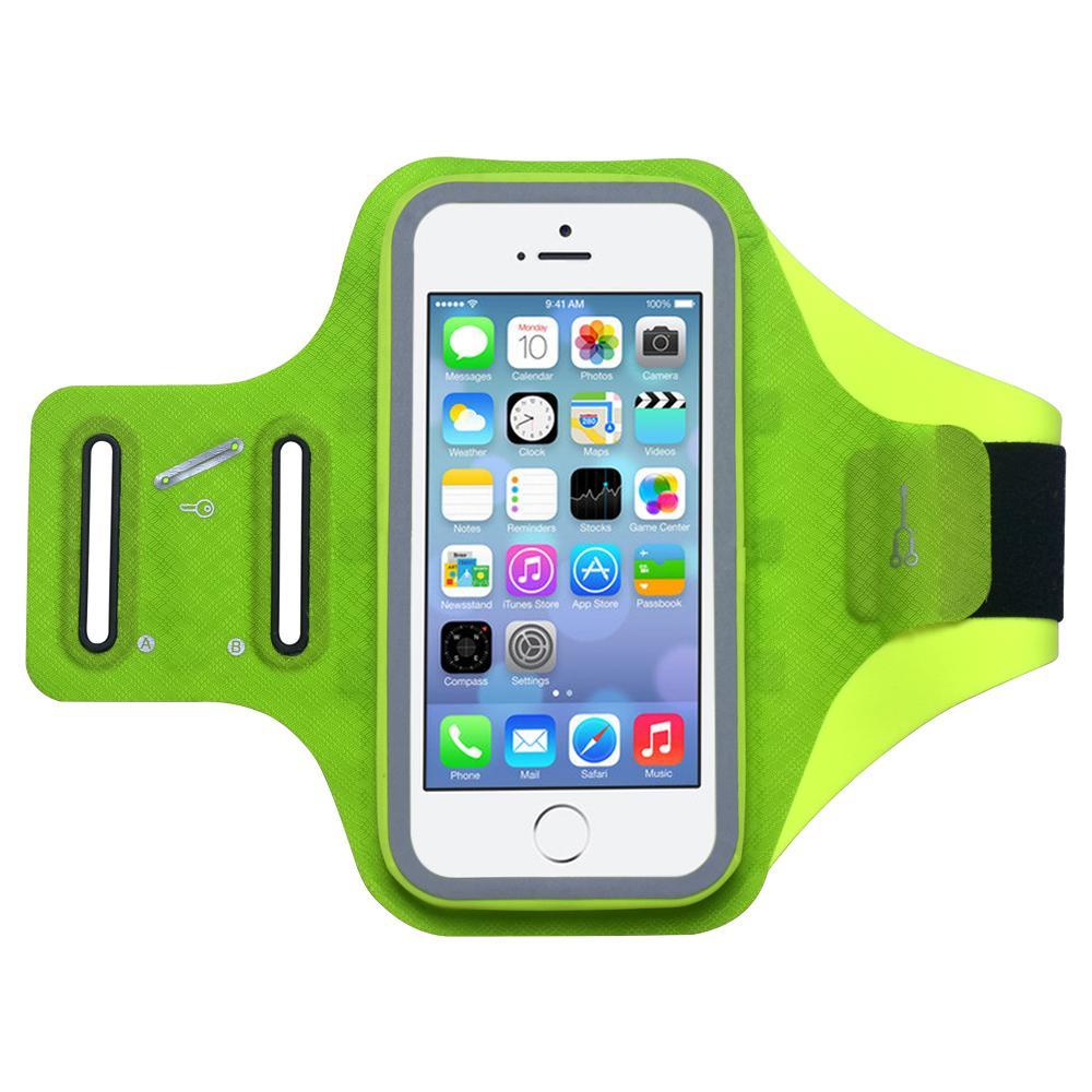 5.8 pollici telefono impermeabile palestra in esecuzione bracciale touch impermeabile da jogging sport braccio cellulare borse per iPhone X XS 8 7 6 Plus