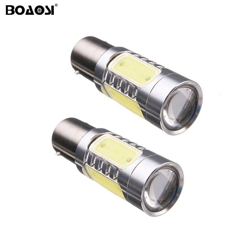 Ampoule de la voiture LED de 1156 Ba15s P21w aucune erreur inverser l'ampoule de Canbus 7.5W Auto LED allument les lumières de renversement allume des ampoules