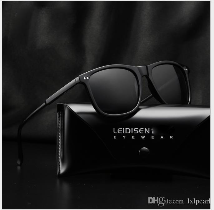 Classic aluminum magnesium male polarized sunglasses, glasses driver, mirror and sunglasses.