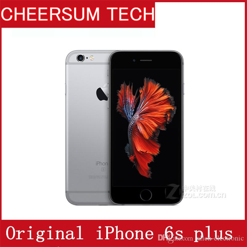 Original refurbished Apple iPhone 6S Plus without Touch ID Dual Core 2GB RAM 16GB 64GB 128GB ROM 12MP Camera Cell Phone