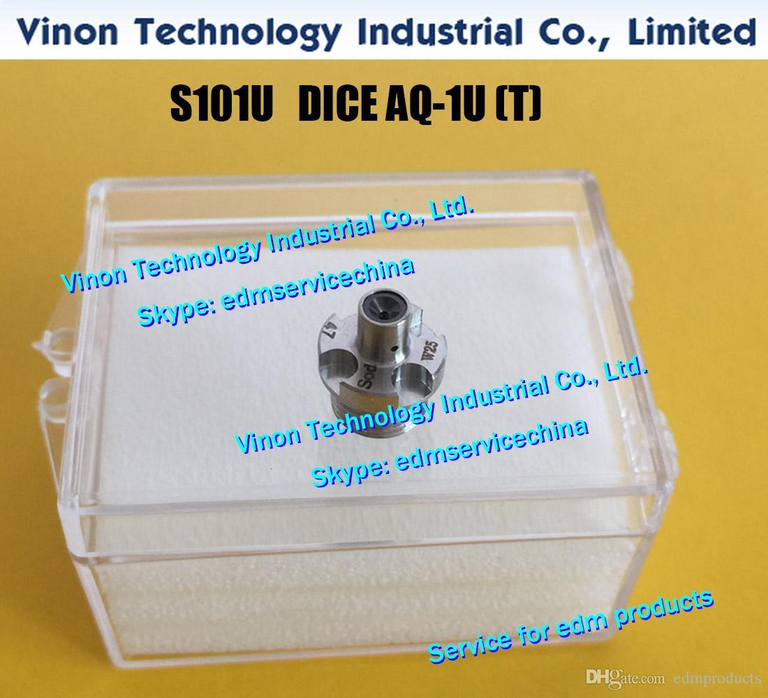 d = 0,31 mm edm DICE AQ-1U (T) S101U J17114A Nuevo estilo Guía de alambre superior AQ-1U (T) 0,31 mm para la serie AL CNC Wire-CUT edm machine edm repuestos
