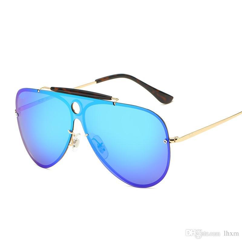 Nova Marca Designer de Moda Homens e Mulheres Óculos De Sol Proteção UV Esporte Óculos de Sol Do Vintage Retro Eyewear Com caixa e casos 3581
