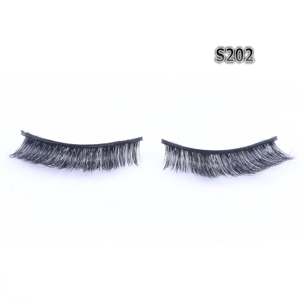 Strip False Eyelashes 3D Real Mink Lashes Factory Direct Natural Long & Thick Custom Logo Box OEM Service FDshine