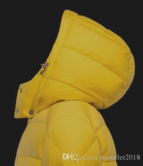 Großhandel Winter Herren Klassischen Stil Dicke Warme Daunenjacken Rot Gelb Abnehmbare Mit Kapuze Daunen Mäntel Kausalen Männlichen Parka Berühmte