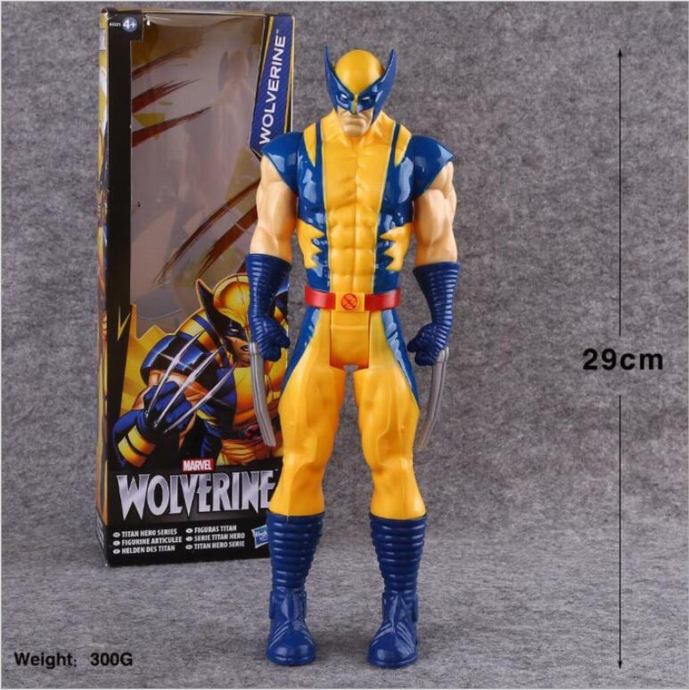 Kid X-Men Wolverine Marvel Titan Hero Series Action Figures Avenger Toy Collect
