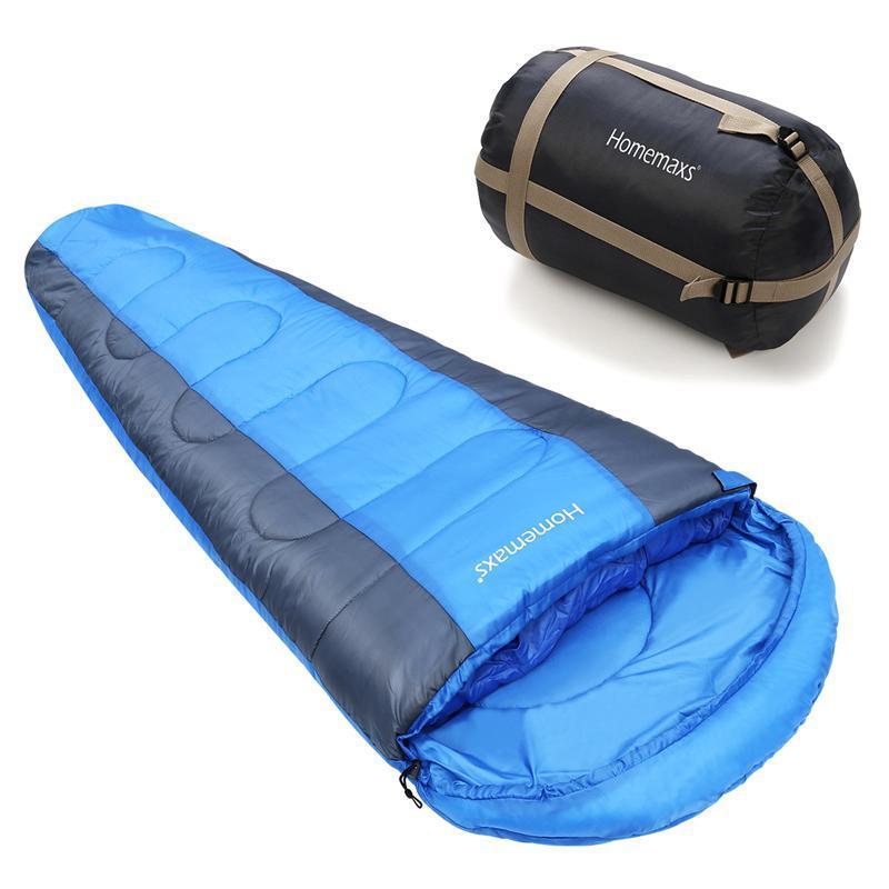 Camping Sleeping Bag Envelope Mummy Outdoor Lightweight Portable Waterproof UK
