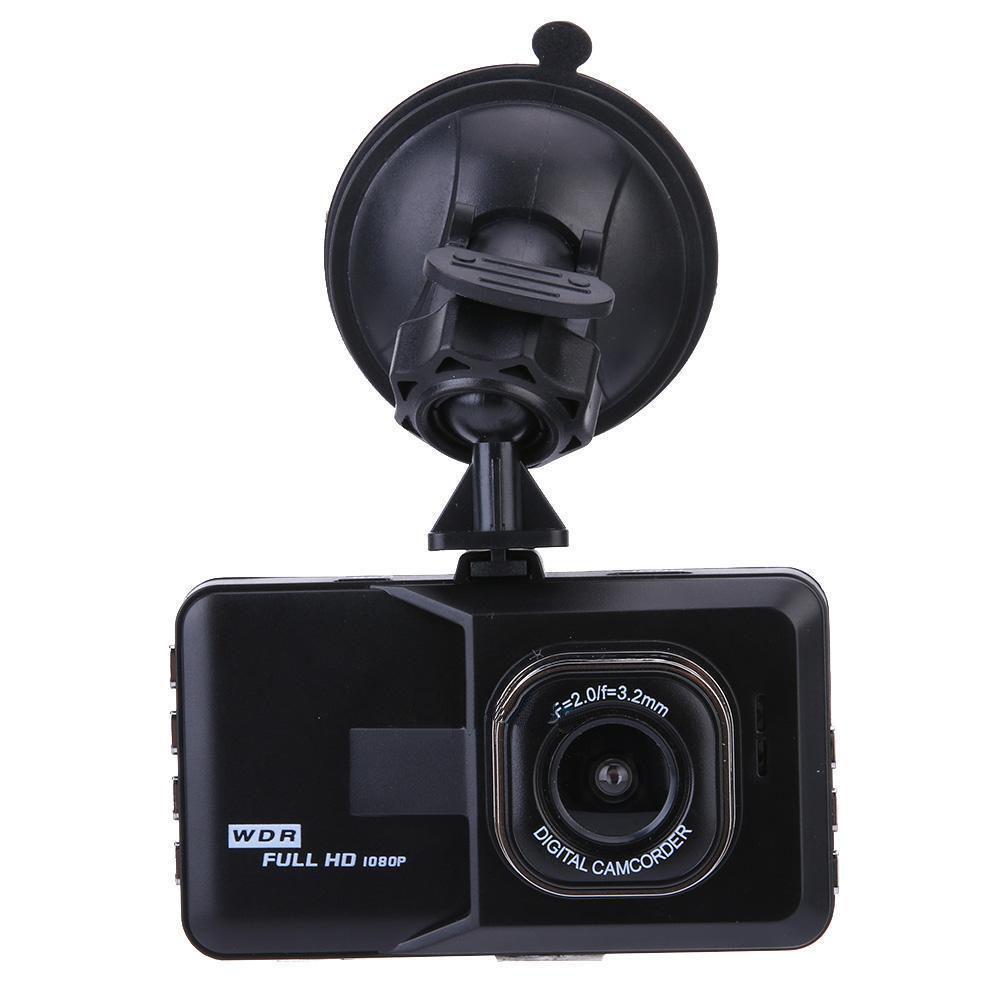 De alta calidad de la conducción de automóviles Screen Recorder 3.0 pulgadas lente de 120 grados con 6 capas de cristal de la lente inteligente cámara de la rociada del coche coche DVR