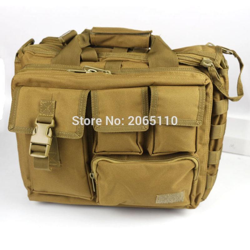 Sac tactique pour ordinateur portable Caméra Mochila Molle Pouch Satchel Bag Sacs à bandoulière pour hommes Sport en plein air Sac à dos Équipement militaire C18111901