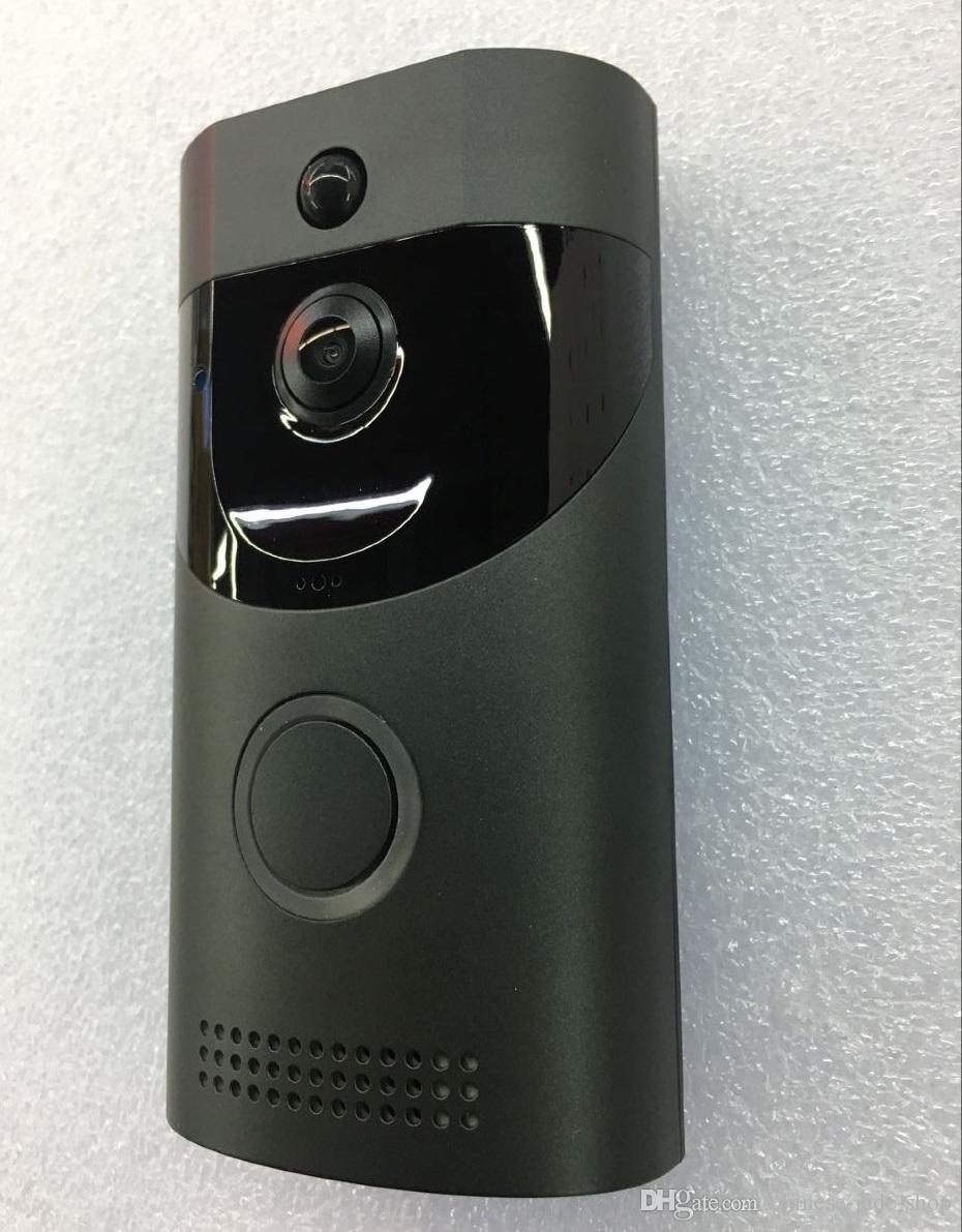 B30 1280*720P беспроводной WIFI видео дверной звонок 166 градусов обнаружения движения домофон ИК ночного видения сигнализации безопасности 10 шт. / лот
