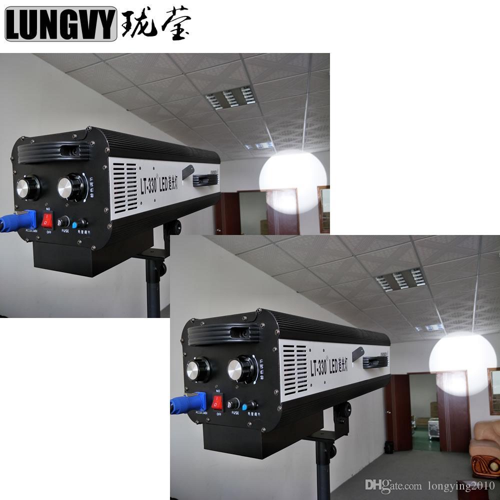2 sztuk / partia 330W LED Follow Spot Light Stand Dj Gobo Light na Wedding Party Fashion Show