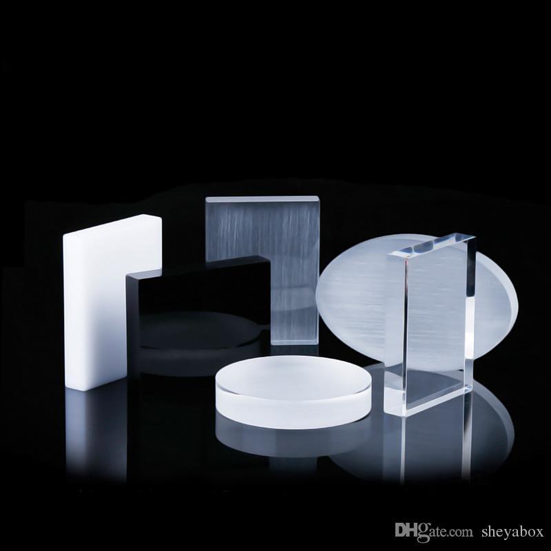 Takı ekran blok zarif akrilik butik dükkan sayacı vitrin çok amaçlı aksesuarlar mücevher sergi pervane standı özel