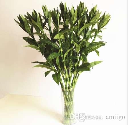 نباتات اصطناعية بامبو خلاقة محاكاة الزهور DIY زهرة زينة المنزل زينة الزهور