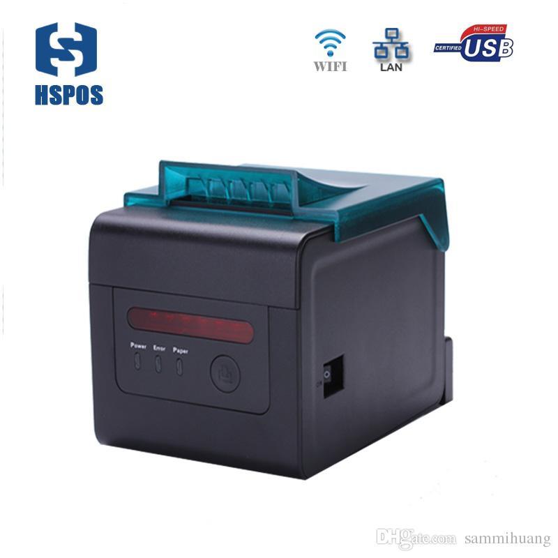 WIFI سرعة عالية 80mm والحرارية طابعة إيصال الشبكة المحلية مع usb دعم واجهة الطباعة المطبخ والإنترنت طباعة ماء HS-H81ULW