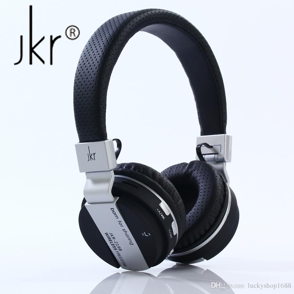 Jkr 219b Wireless Bluetooth Headphones Folding Stereo Music Headset With Mic Tf Fm Radio Headphone Earphone For Smart Phones Pc Headset Bluetooth Headphones From Luckyshop1688 24 13 Dhgate Com