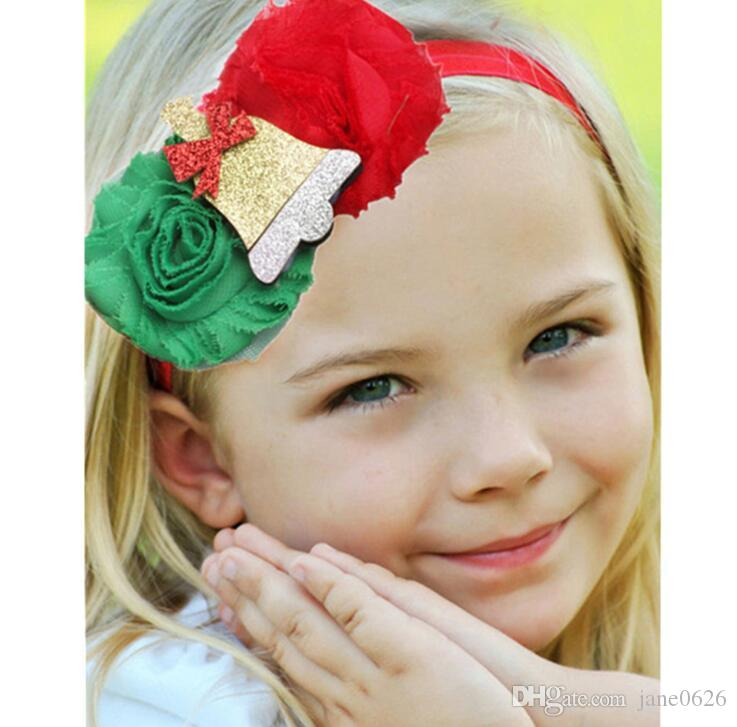 Flowers Cartoon Bells Baby Fashion Belts New Fashions for sale in Europe and America Children Christmas