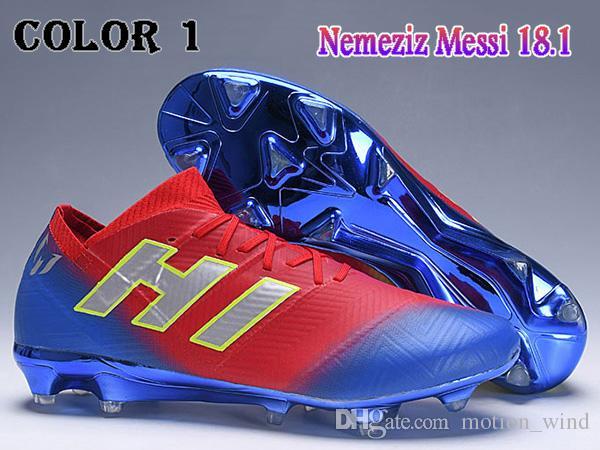 reputable site 92b50 21429 Nuevos Botas de fútbol para hombre con bajo tobillo NEMEZIZ 18+ 360 Agility  FG Zapatillas ...