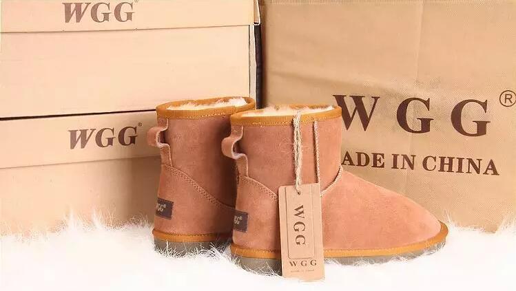 Sıcak Kış Kar Botları Klasik WGG 5854 Kadınlar Sıcak Mini Çizme Noel Bayanlar Minis Ayakkabı Kestane Çikolata Gri Siyah Satış