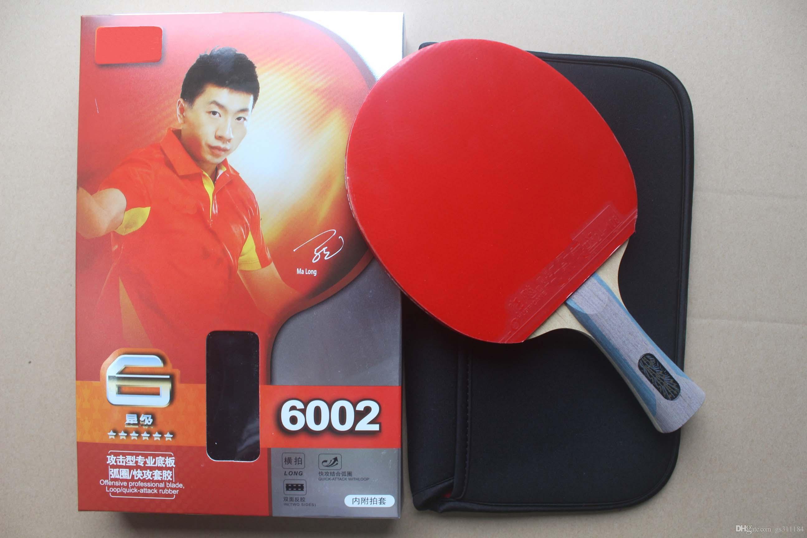 2018 NEW 6006 5006 Tischtennisschläger. 6 Sterne. Fertigprodukt Tischtennisschläger