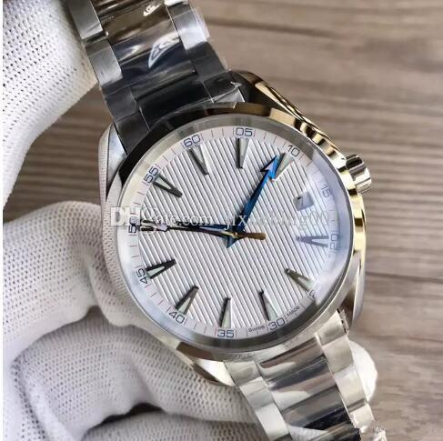Luxury Watches Stainless Steel Bracelet Aqua Terra 150m Master 41.5mm Stainless Steel 23110422101004 41.5mm Automatic MAN WATCH Wristwatch
