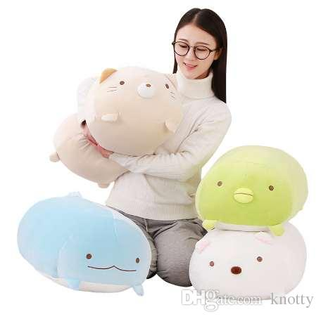 1pc 60cm San-X Corner Bio Pillow Japanese Animation Sumikko Gurashi Plush Toy down cotton Cartoon Kids Girls Valentine Gift