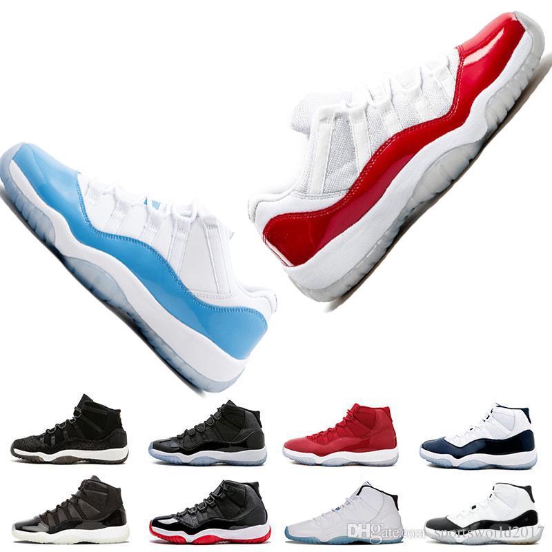Retro Air Jordan 11 AJ11 Nike баскетбол обувь пространство варенье разводят тренажерный зал Красный спортивная обувь Pantone легенда разводят кроссовки женские спортивные дешевые мужская обувь