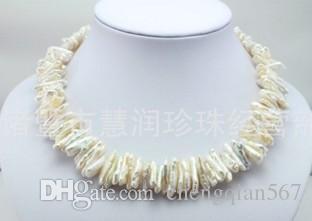 noble collar de perlas alienígenas extrañas naturales de mujer (103)