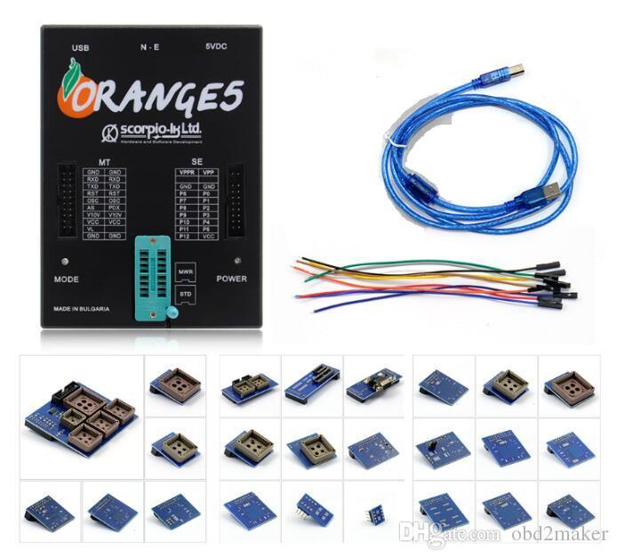لOrange5 المهنية جهاز البرمجة مع حزمة كاملة الأجهزة + تعزيز وظيفة البرتقال البرنامج 5