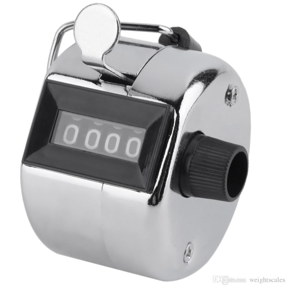 금속 탈리 카운터 휴대용 골프 스트로크 랩 재고는 4 자리 숫자 식자 카운터도 Clicker을 계산