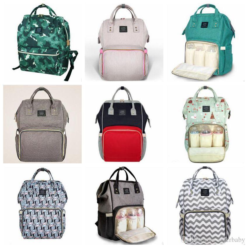 Windel Windeln Taschen Mama Mutterschaft Rucksäcke Marke Desinger Handtaschen Mode Pflege Taschen Outdoor Reise Laptop Taschen Organizer Totes B4112