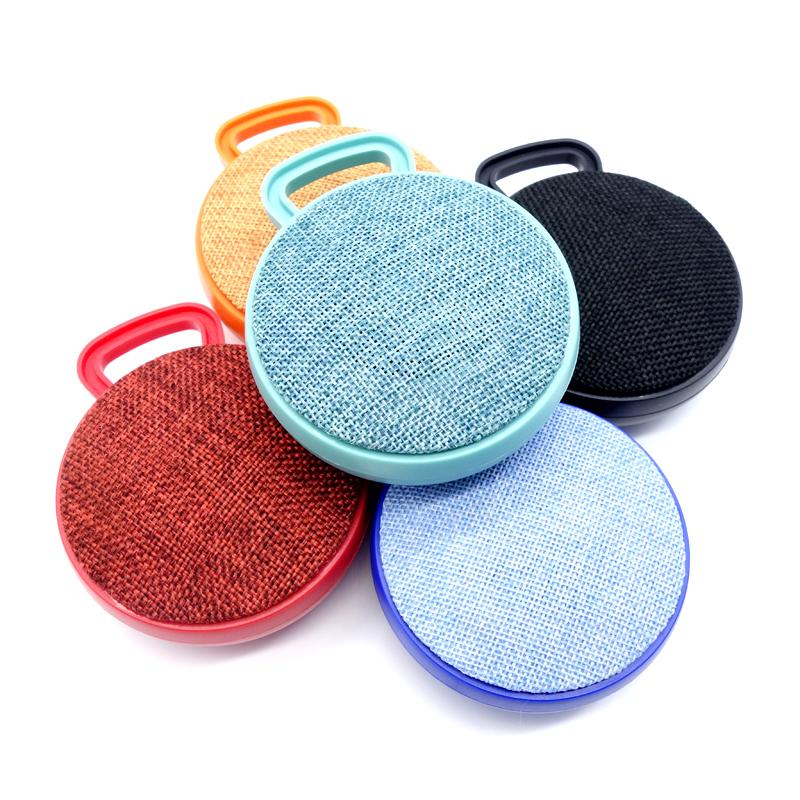 High Quality Cloth Portable speaker A01L Mini Portabe Stereo Bluetooth Speaker Wireless Outdoor Sports Music Player Support TF Card