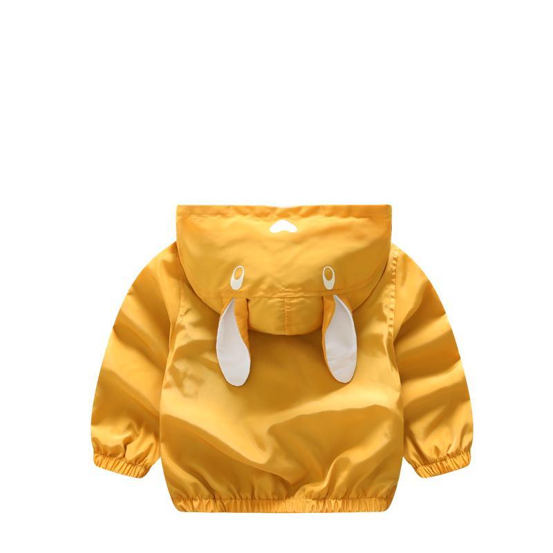 Cappotti della tuta sportiva dei bambini di autunno di primavera di Abreeze cappotti classici dei bambini di stile animale per le ragazze dei ragazzi Nuovi hoodies dei bambini 1-7T CQ30