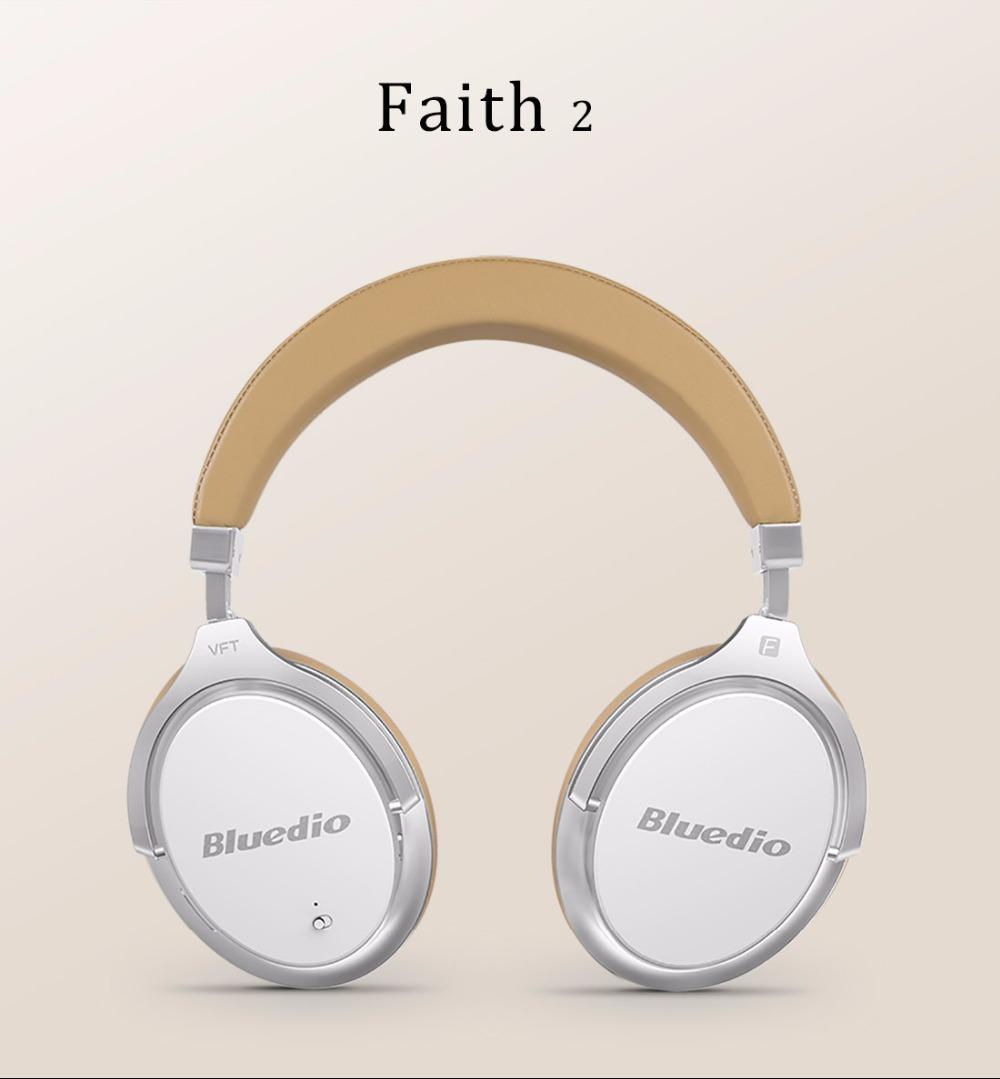 31f28ccb8e8 Bluedio F2 Headset With ANC Wireless Bluetooth Headphones With ...