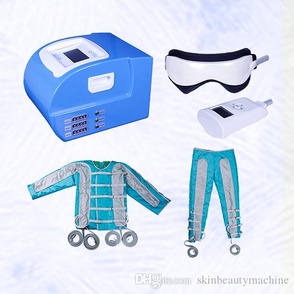 2019 Pressotherapy Máquina de Drenagem Linfática Sauna Pressotherapy máquinas de onda fina corpo desintoxicação corpo máquina de emagrecimento máquina de circulação de sangue