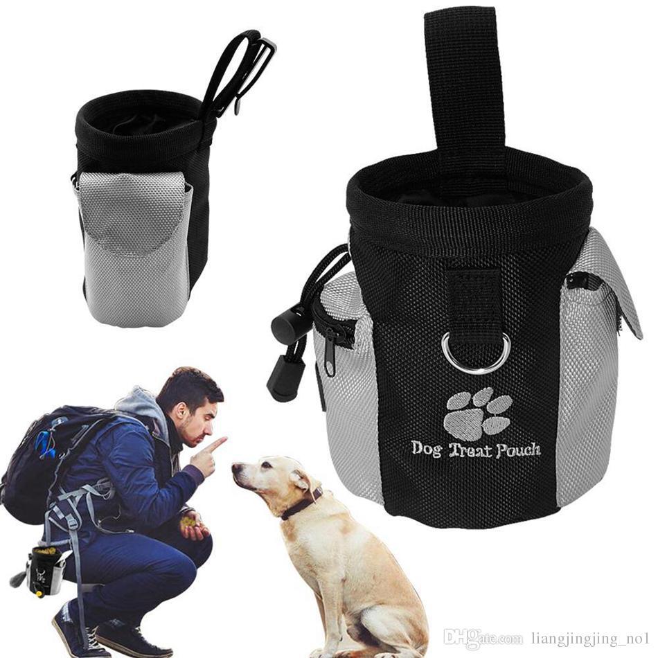 Snack Puppy Dog Pet Bag Mãos Obediência Impermeável gratuito agilidade Bait Formação Alimentar Treat Pouch Train Pouch AAA102