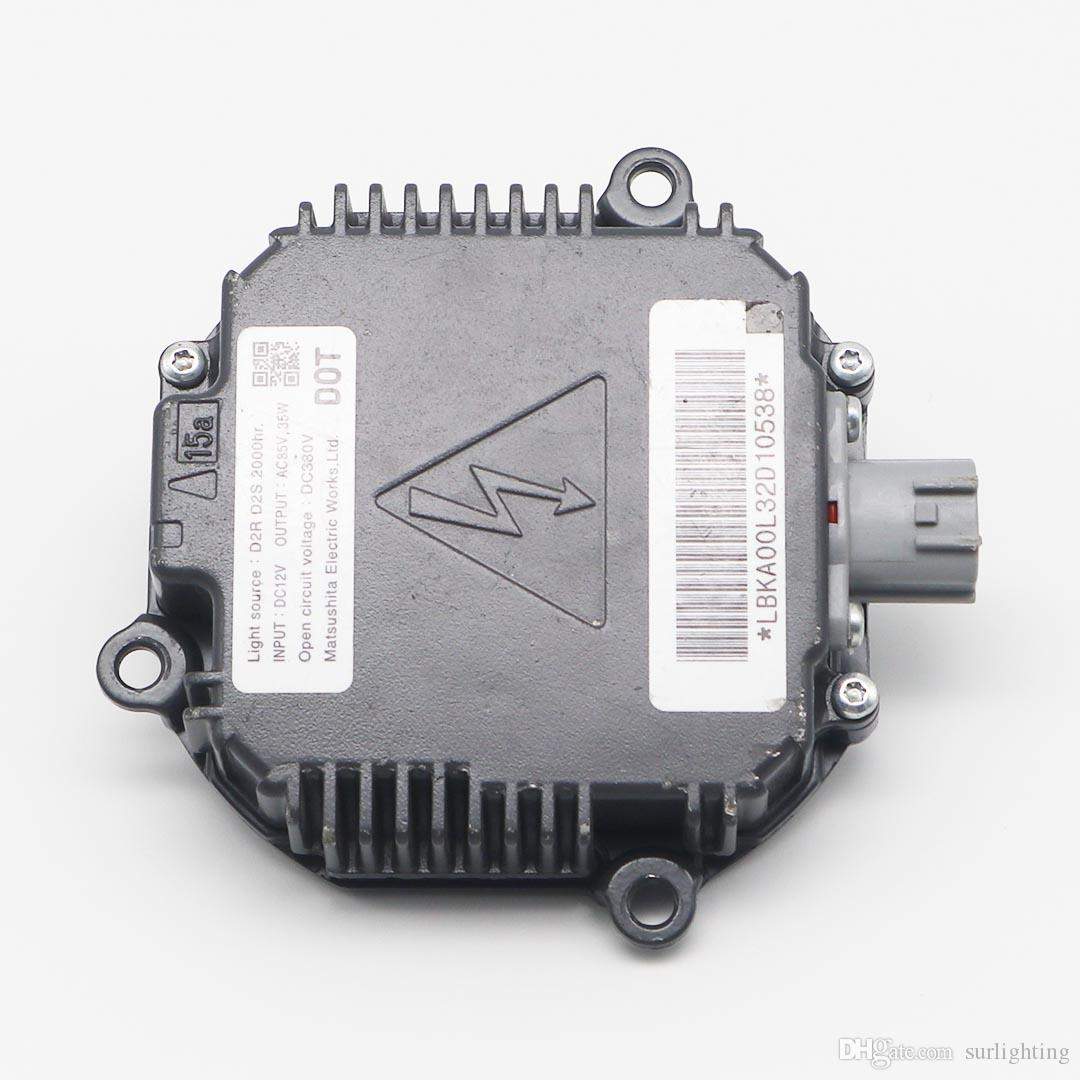 Without Igniter! Original Japan D2S 35w HID Xenon headlamp OEM Matsushita ballast for Mazda CX-7 car headlight
