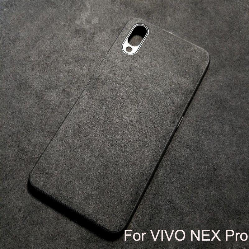 classic 708e8 a65fe Suede Fabrics Leather Case For VIVO NEX Pro Case,Luxury 360 Degree Full  Coverage Protection Fitted Case For VIVO NEX Back Cover Leather Phone Cases  ...