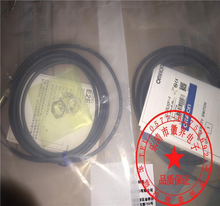 E2E-X2E1-Z M12 NPN YOK Için Omron Yeni Yakınlık Anahtarı Sensörü Garanti Bir Yıl