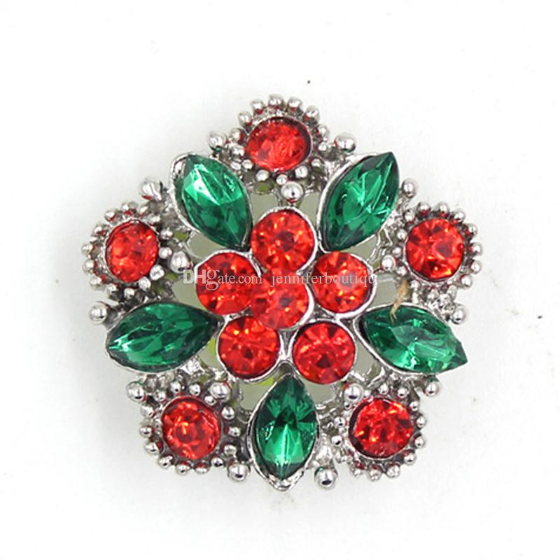 Toptan DIY Değiştirilebilir Metal Düğme ed Yeşil Kristal Geometri Düğmeler için 18mm Yapış Takı Snap Düğmesi Bilezik Yapış Kolye